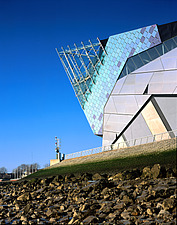The Deep, Hull, on the River Humber - visitor attraction and study centre for marine life - 10430-90-1