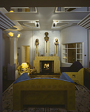 The Cosmic House, also known as The Thematic House, London, UK - a grade-I listed building - 238-870-1