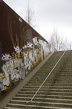 Urban steps with handrail, Berlin - 12106-180-1