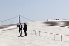 Exterior view of The MAAT - Museum of Art, Architecture and Technology, Lisbon, Portugal - 16866-30