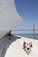 Exterior view of The MAAT - Museum of Art, Architecture and Technology, Lisbon, Portugal - 16866-50