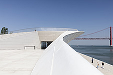 Exterior view of The MAAT - Museum of Art, Architecture and Technology, Lisbon, Portugal - 16866-70