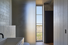Pump Station, Dungeness, Kent, UK  bathroom, looking out - 16873-100