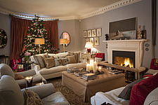 Annoushka Ducas home in Chichester showing Christmas decorations - 14877-110-1