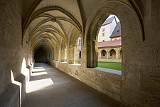 Cloister at the former Dominican monastery in Bamburg, Bavaria, Germany - 40034-240-1