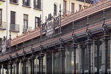 Exterior of San Miguel market, Madrid, Spain - 40035-100-1