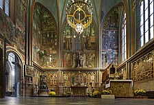 Wenceslas Chapel of Parler, 1344-64, St Vitus Cathedral, Prague, Czech Republic - 40090-50-1