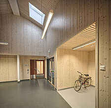 Interior of the Care Centre Kvernaland Omsorggsenter in Kverneland, Time, Rogaland, Norway  - 16926-110