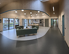 Interior of the Care Centre Kvernaland Omsorggsenter in Kverneland, Time, Rogaland, Norway  - 16926-130