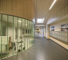 Interior of the Care Centre Kvernaland Omsorggsenter in Kverneland, Time, Rogaland, Norway  - 16926-160