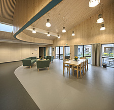 Interior of the Care Centre Kvernaland Omsorggsenter in Kverneland, Time, Rogaland, Norway  - 16926-240
