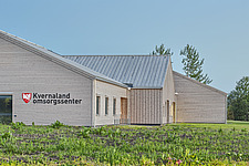 Exterior of the Care Centre Kvernaland Omsorggsenter in Kverneland, Time, Rogaland, Norway  - 16926-30