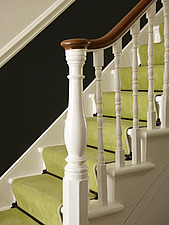 Carpeted staircase detail - 16931-50