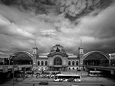 Dresden Hauptbahnhof, Dresden, Germany is the largest passenger station in the Saxon capital of Dresden - 13460-10-2