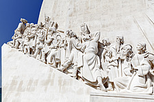 Prince Henry the Navigator leading the Monument to the Discoveries in Belem, Lisbon - 16956-10