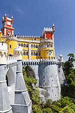 National Palace of Pena in Sintra, Portugal, 1836-1854 - 16956-150