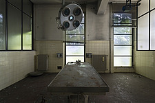 inside of an abandoned animal testing facility in Italy - ARC101278