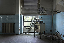 inside of an abandoned animal testing facility in Italy - ARC101281