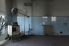 inside of an abandoned animal testing facility in Italy - ARC101282