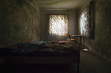 a room in an abandoned hotel in Germany - ARC101323