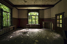 a room in an abandoned villa in Belgium - ARC101330