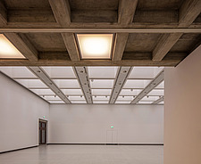 The new interior of the Hayward Gallery, a world-renowned contemporary art gallery and landmark of Brutalist architecture on London's South Bank - ARC102106