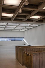 The new interior of the Hayward Gallery, a world-renowned contemporary art gallery and landmark of Brutalist architecture on London's South Bank - ARC102112