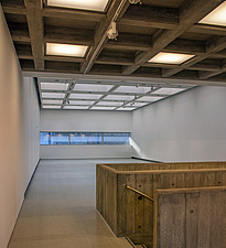 The new interior of the Hayward Gallery, a world-renowned contemporary art gallery and landmark of Brutalist architecture on London's South Bank - ARC102113