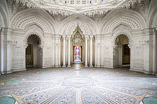 Beautiful architecture in the abandoned Castle of Sammezzano in Italy - ARC102856