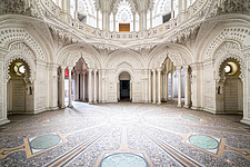 Beautiful architecture in the abandoned Castle of Sammezzano in Italy - ARC102857