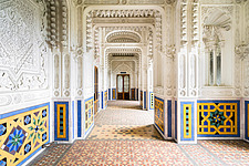 Beautiful architecture in the abandoned Castle of Sammezzano in Italy - ARC102861