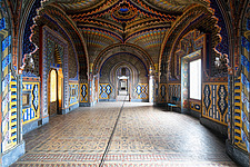 Beautiful architecture in the abandoned Castle of Sammezzano in Italy - ARC102862