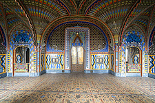 Beautiful architecture in the abandoned Castle of Sammezzano in Italy - ARC102864