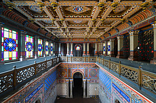 Beautiful architecture in the abandoned Castle of Sammezzano in Italy - ARC102866