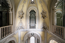 Beautiful architecture in the abandoned Castle of Sammezzano in Italy - ARC102870