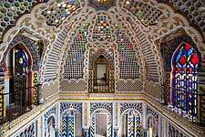 Beautiful architecture in the abandoned Castle of Sammezzano in Italy - ARC102873