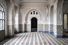 Beautiful architecture in the abandoned Castle of Sammezzano in Italy - ARC102886