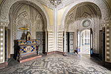 Beautiful architecture in the abandoned Castle of Sammezzano in Italy - ARC102888