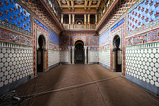 Beautiful architecture in the abandoned Castle of Sammezzano in Italy - ARC102891