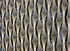 Exterior view of facade with outer envelope detail, The American Embassy in Nine Elms, London, UK - ARC104012