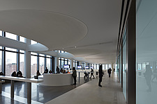 Interior view of Consular Services, The American Embassy in Nine Elms, London, UK - ARC104032
