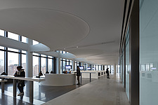Interior view of Consular Services, The American Embassy in Nine Elms, London, UK - ARC104033