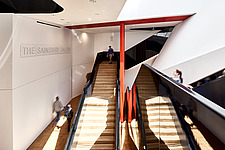 The staircase of The Sainsbury Gallery, V&A, London, UK,completed in 2017 - ARC104243
