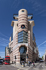 A street level day shot of No 1 Poultry, London, completed in 1997 - ARC104262