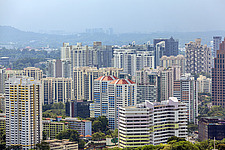 Cityscape view of residential buildings in Tiong Bahru district, Singapore - ARC104594