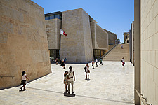 The Parliament House, The City Gates Project, Valletta, 2011-2015 - ARC104597