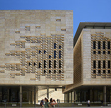 The Parliament House, The City Gates Project, Valletta, 2011-2015 - ARC104601