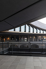 Coal Drops Yard by Heatherwick Studio is a retail district in London King's Cross, UK - ARC105720