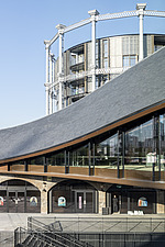 Coal Drops Yard by Heatherwick Studio is a retail district in London King's Cross, UK - ARC105735