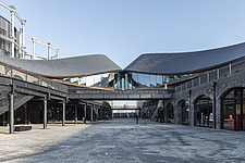 Coal Drops Yard by Heatherwick Studio is a retail district in London King's Cross, UK - ARC105737